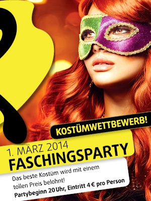 Faschingsparty am 01.03.14